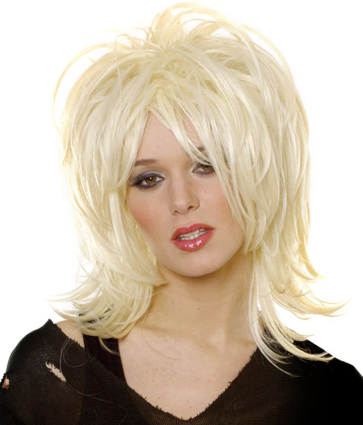 Adult Courtney Rock Wig