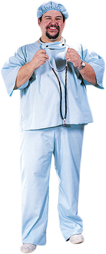 Plus Size Doctor Costume