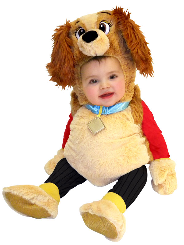 Infant Lady & The Tramp Costume