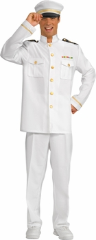 Adult Navy Captain Uniform Costume