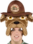 Marine Corps Bulldog Costume Hat Headpiece