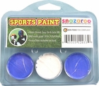 Light Blue, White, Light Blue Face Paint Kit for Sports Fans