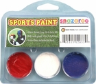 Red, White, Blue Face Paint Kit for Sports Fans