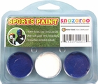 Royal Blue, White, Royal Blue Face Paint Kit for Sports Fans