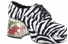 Zebra Fish Tank Shoes