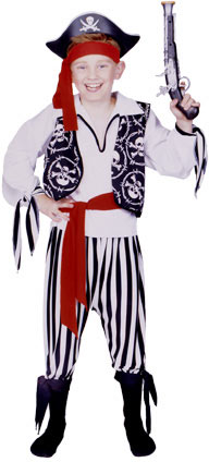 Child's Buccaneer Pirate Costume