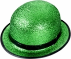 St. Patricks Green Glitter Hat