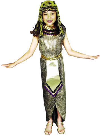 Child's Sequin Cleopatra Costume