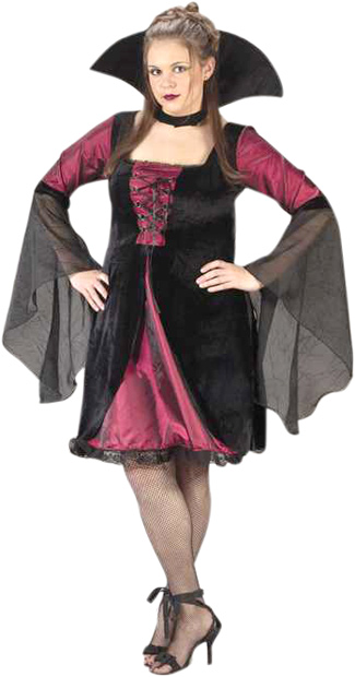 Plus Size Sexy Vampiress Costume