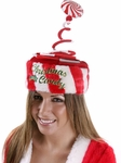 Adult Springy Christmas Candy Hat