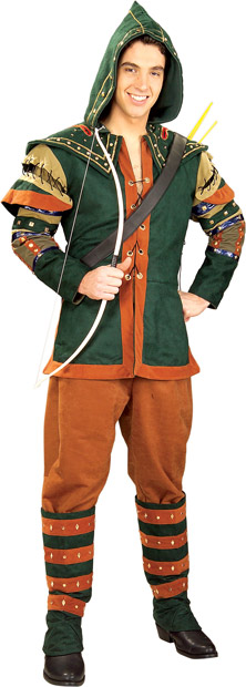 Adult Medieval Prince of Thieves Costume