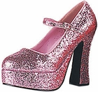 Sexy Little Bo Peep Glitter Shoes