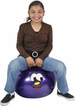 "Hippity Hop 18"" Purple Smiley Face Hop Ball"