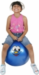 "Hippity Hop 18"" Blue Smiley Face Hop Ball"