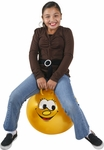 "Hippity Hop 18"" Yellow Smiley Face Hop Ball"
