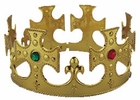 Adult Gold King Costume Crown