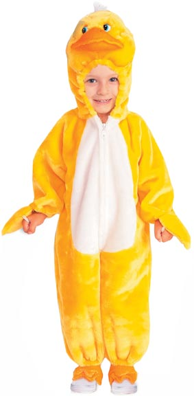 Child's Plush Duck Costume