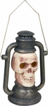 Light Up Skull Lantern