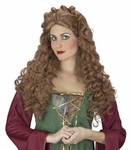 Brown Noble Princess Wig