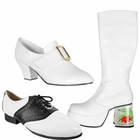 White Costume Shoes