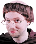 Friar Monk Costume Wig