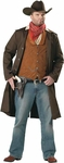 Adult Plus Size Gunslinger Costume