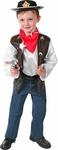 Child's Cowboy Costume Playset