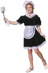 Child's Upstairs Maid Costume