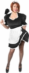 Plus Size Upstairs Maid Costume