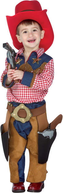 Toddler Texas Cowboy Costume