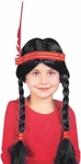 Child's Indian Girl Wig