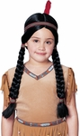 Child's Maiden Indian Wig