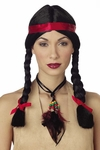 Women's Indian Wig W/ Band