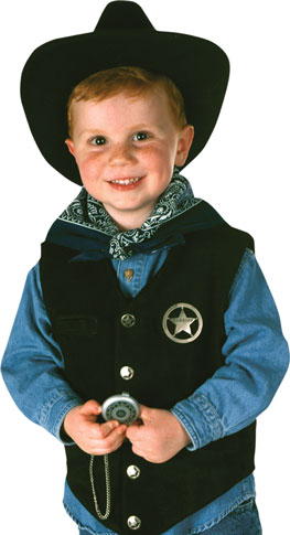 Child's Cowboy Costume Set