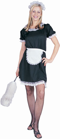 Adult Classic French Maid Costume