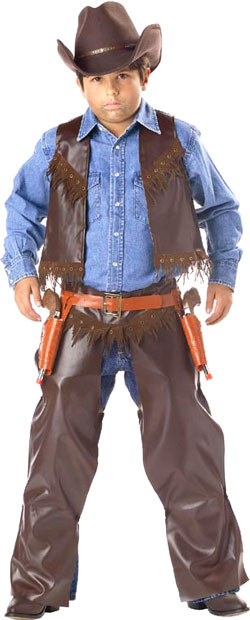 Child's Gunslinger Cowboy Costume