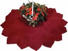 "40"" Burgundy Tree Skirt"
