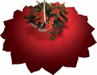 "58"" Red Tree Skirt"