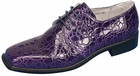 Men's Purple Pimp Shoes