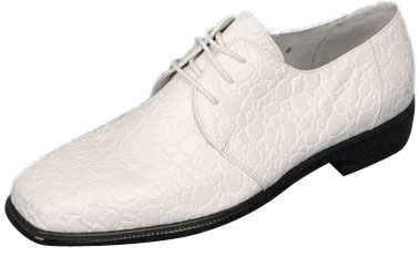 Men's Cream Pimp Shoes