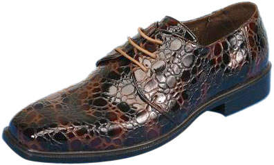 Men's Leopard Pimp Shoes