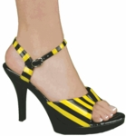 Sexy Bee Costume Shoes
