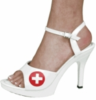 Sexy Nurse Costume Shoes