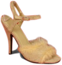Women's Sexy Fur Cavewoman Shoes