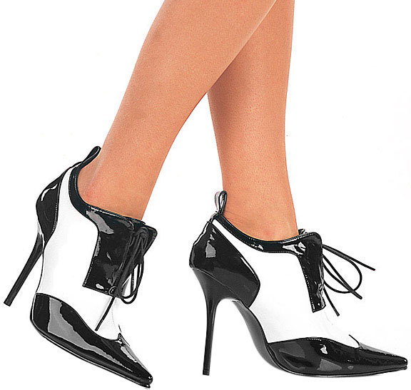 Sexy Gangster Girl Costume Shoes