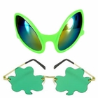 Green Costume Glasses