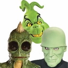 Green Costume Masks