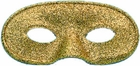 Gold Glitter Eye Mask