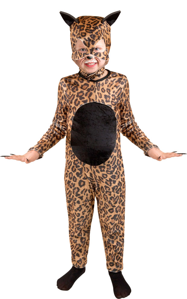 Child's Cheetah Cat Girl Costume
