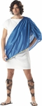 Adult Men's Blue Toga Costume